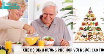 Chế độ dinh dưỡng phù hợp với người cao tuổi