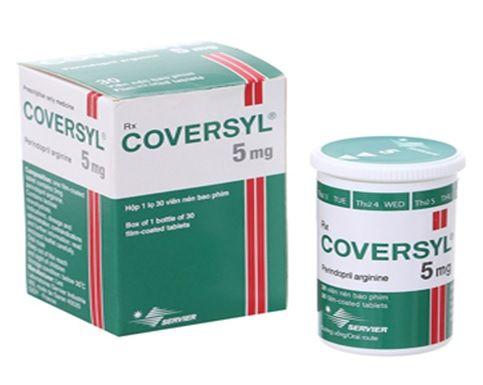 Thuốc Coversyl được sử dụng nhiều để trị bệnh tim mạch