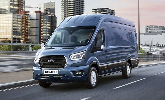 Ford Transit 2019 là mẫu xe mới nằm trong phân khúc xe thương mại