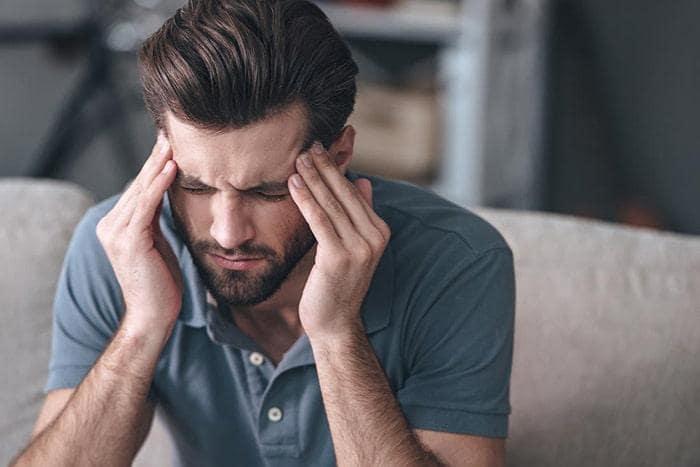 Các cơn đau đầu sẽ kéo dài liên tục do cơ thể chưa thích nghi