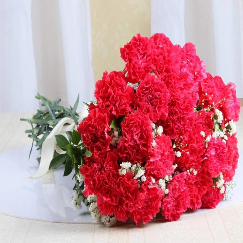 Nên tặng hoa cẩm chướng trong kỷ niệm ngày cưới cha mẹ