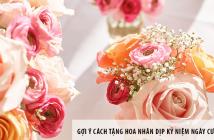 Gợi ý cách tặng hoa nhân dịp kỷ niệm ngày cưới cha mẹ