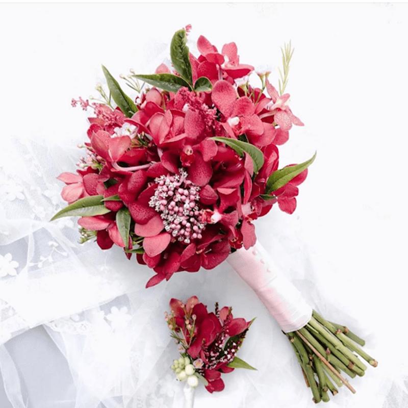Hình dung về bó hoa