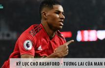 Kỷ lục đang chờ Rashford - Tương lai của Manchester United